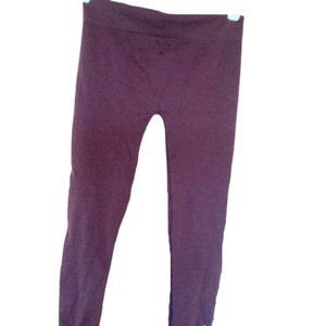 FREE W PURCHASE  Girl's Brown Cropped Legging fits XL
